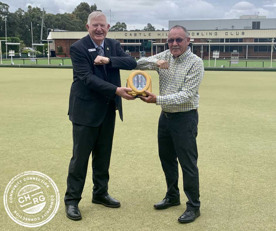 AED Donation Castle Hill Bowling Club