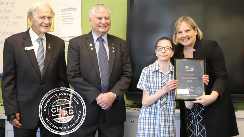 St Gabriel's School 'Literacy in Action' – supported by CHRG's Community Connection Program