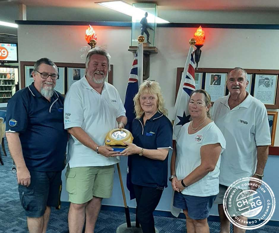 As part of CHRG's 'Adopt a Club' initiative, Walgett RSL Club receives an AED
