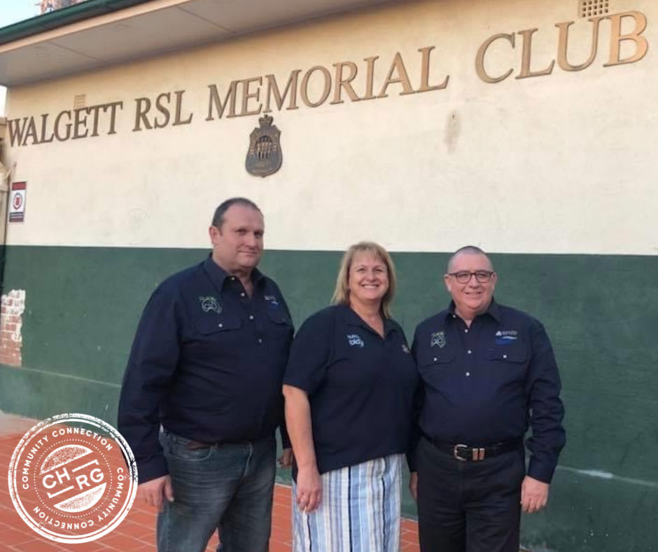 Walgett RSL Club benefits from CHRG's  'Adopt a Club' Commitment